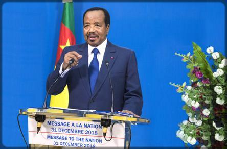 le président Paul Biya