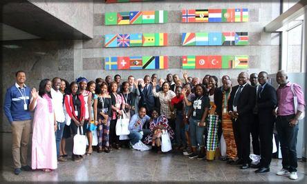 les blogueurs à la BAD à Abidjan