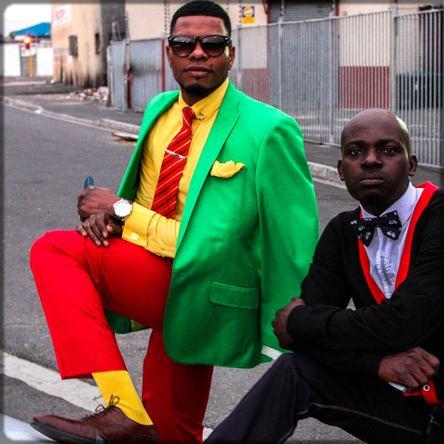 deux sapeurs africains