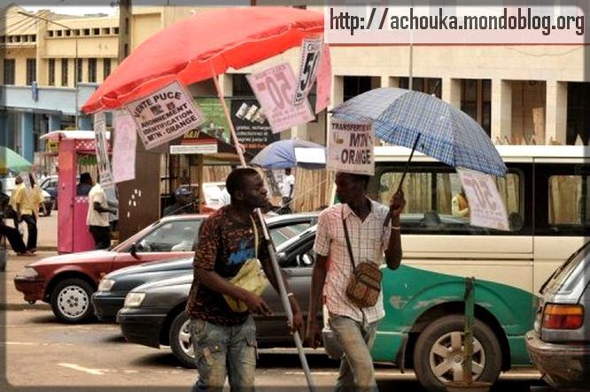 deux call-boxeurs camerounais
