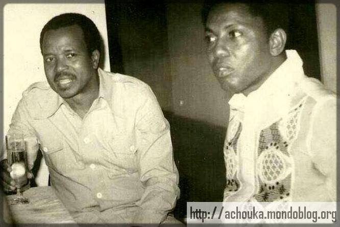 Paul Biya avec un ami