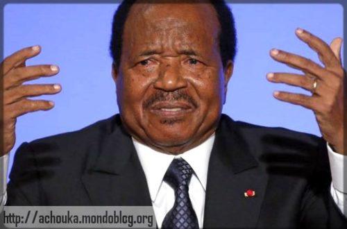 Article : On a tous un peu en nous quelque chose de Paul Biya…