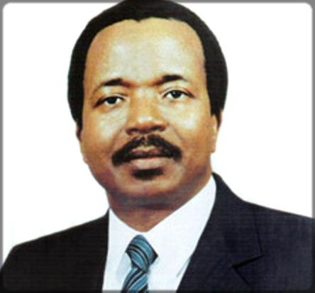 portrait de Paul Biya