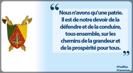 tweet de Paul Biya