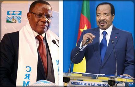 Maurice Kamto contre Paul Biya