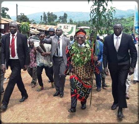 John Ngute à Bamenda
