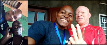 Les amis de mon enfance Vieux Dissongo et Aimé Ntamack