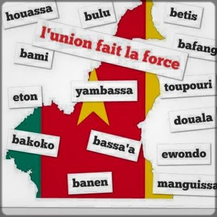 la carte du Cameroun et la liste des ethnies