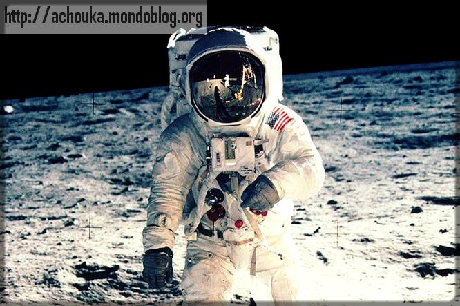 "Edwin ""Buzz"" Aldrin sur la Lune"