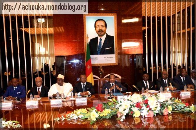 conseil de ministres avec Paul Biya