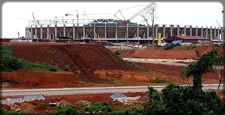 stade camerounais en chantier