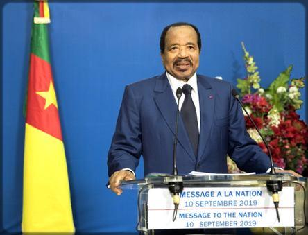 Paul s'adresse à la nation camerounaise