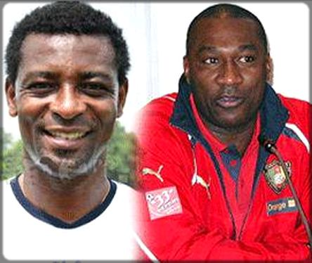Omam Biyick et Jacques Songo'o