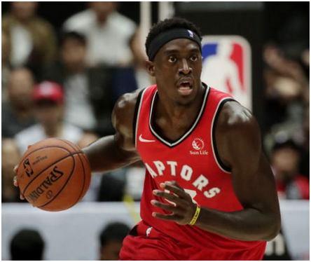 Pascal Siakam, basketteur NBA
