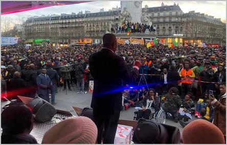 Maurice Kamto à Paris