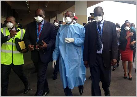le ministre Manaouda Malachie contre le coronavirus