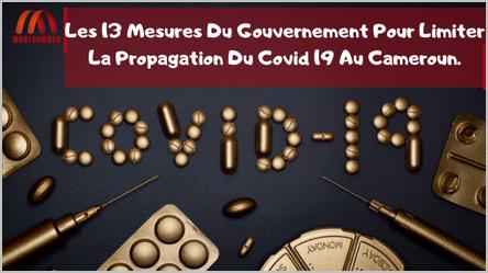 Le Gouvernement camerounais a dicté 13 mesures pour combattre le covid-19