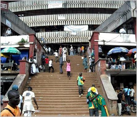le marché central de Yaoundé