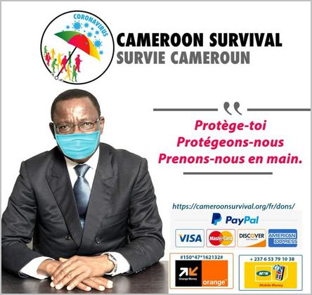 affiche Maurice Kamto Cameroon survival