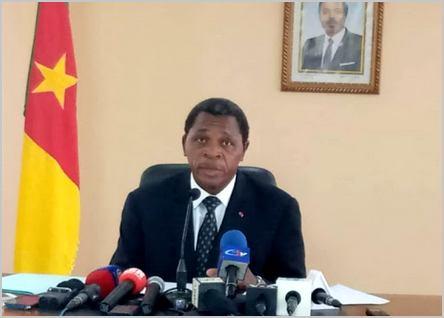 Paul Atanga Nji, ministre de l'administration territoriale