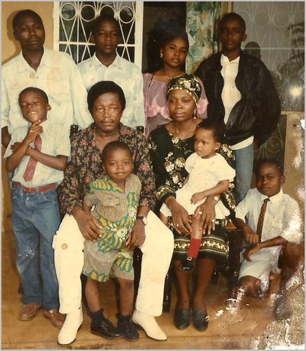 La famille Deudjui à Edéa