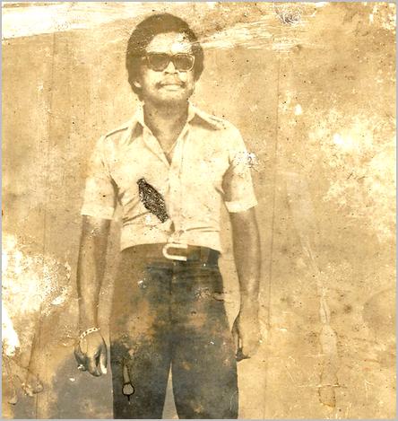 Deudjui Célestin en 1975