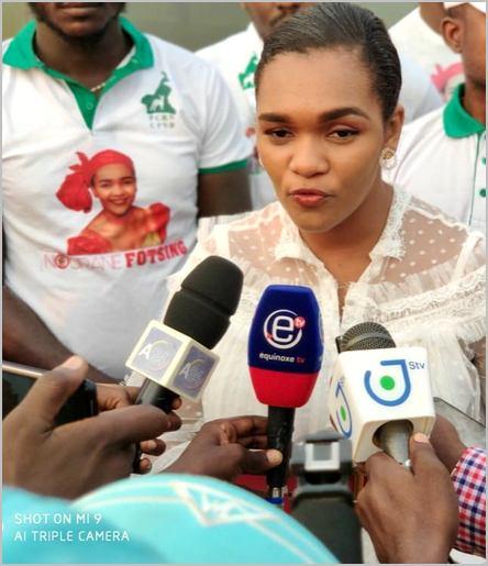 la député camerounaise Nourane Fotsing