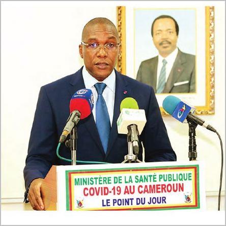 Le ministre de la santé Malachie Manaouda