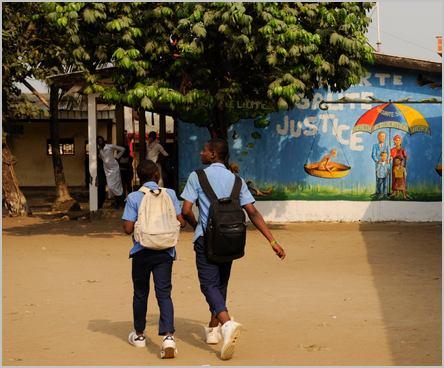 deux lycéens camerounais