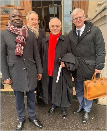 Jean-Pierre Amougou Belinga à Paris