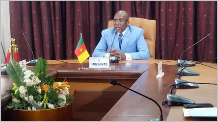 le ministre camerounais de la santé, Malachie Manaouda