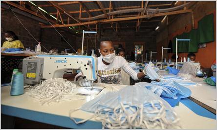 fabrication de masques à Cicam