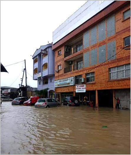 inondation à ABK radio