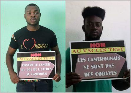 des Camerounais qui disent Non au vaccin-test contre le cancer du col de l'utérus