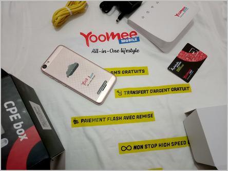 téléphone et modem Yoomee Cameroun