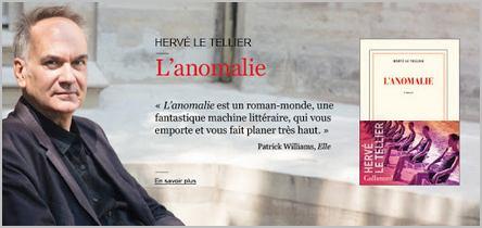 Hervé Le Tellier et son roman L'Anomalie qui a remporté le Prix Goncourt 2020