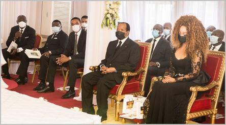 Le président Paul Biya aux obsèques de sa grande sœur