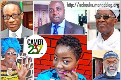 Article : Mon hit-parade des personnalités camerounaises en 2020