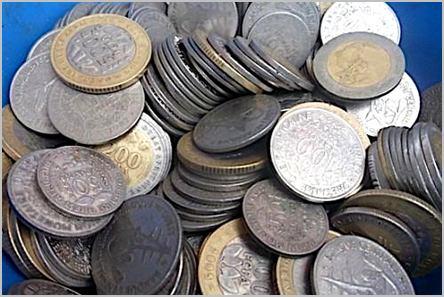 pièce de monnaie franc CFA