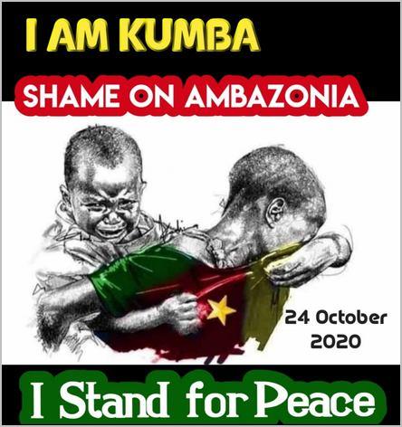 hommage aux victimes du massacre de Kumba