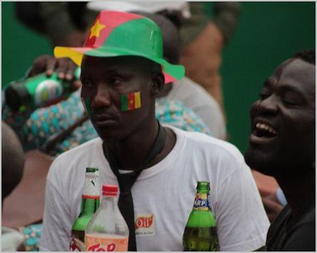 Un supporter camerounais